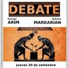 afiche debate rectorables